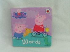 Adorable My 1st Baby Peppa Pig 'Words' Baby Board Book